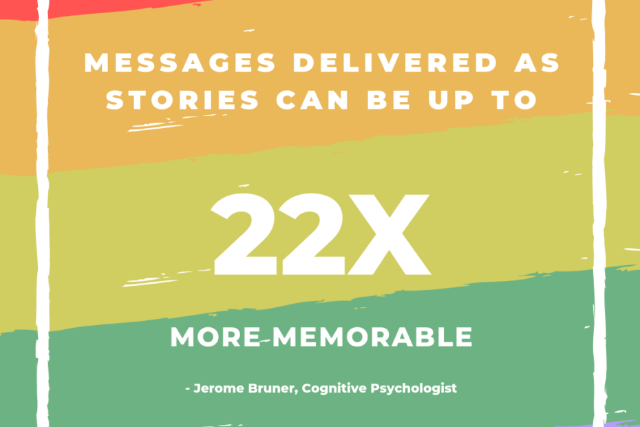 why storytelling stories are memorable